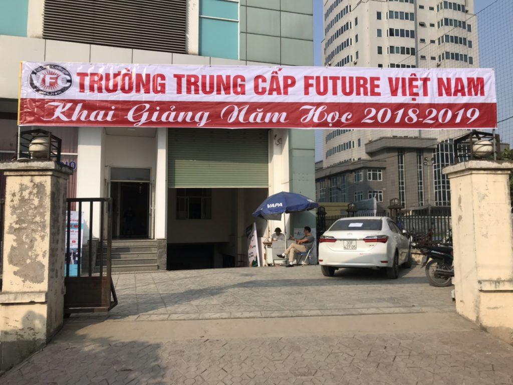 Trường trung cấp Future Việt Nam chào đón các bạn tân sinh viên