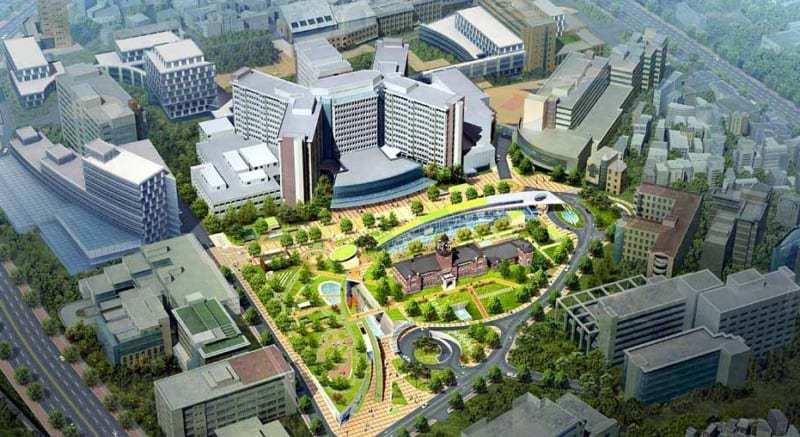 Tổng thể trường đại học quốc gia Seoul