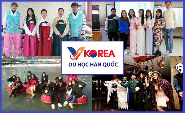 Giao lưu văn hóa của trường đại học Kangwon
