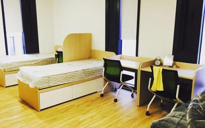 Phòng kí túc xá Trường đại học Chongshin