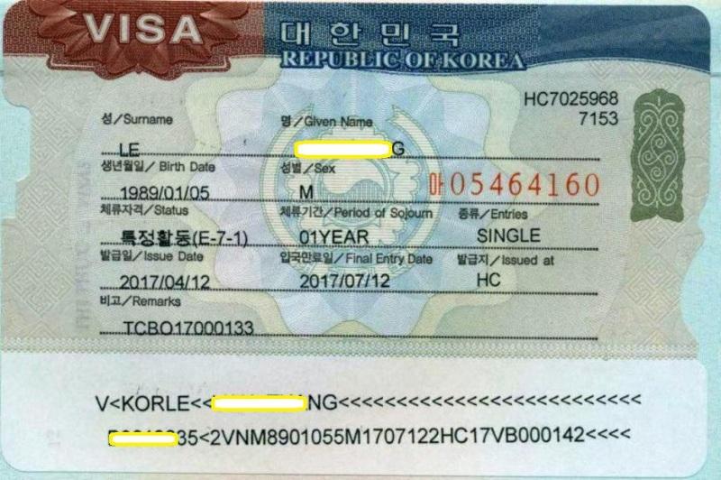 Visa E7