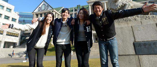 Sinh viên trường đại học Hanyang