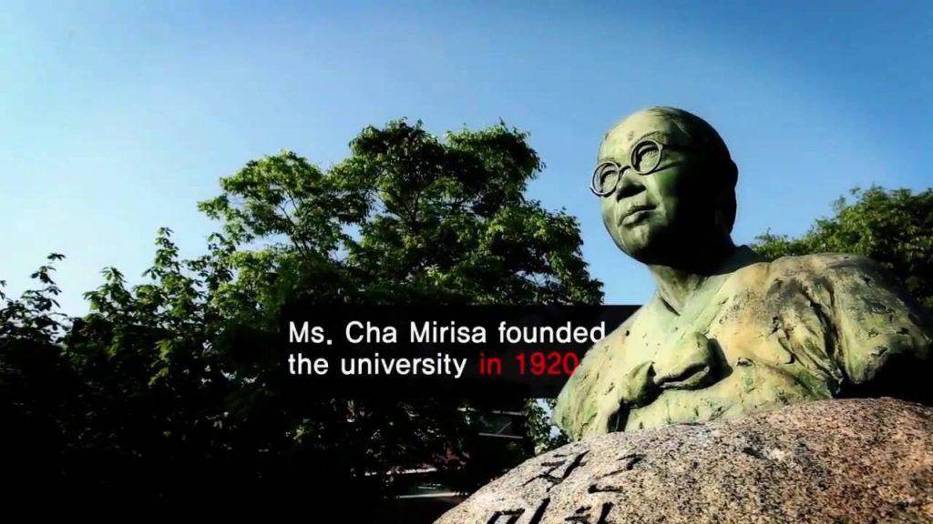 Bà Cha Mi Ri Sa người sáng lập ra trường đại học nữ sinh Duksung