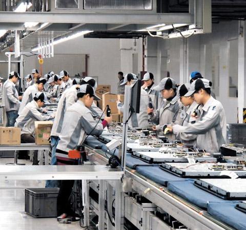 Lao động Hàn Quốc ngành chế tạo máy
