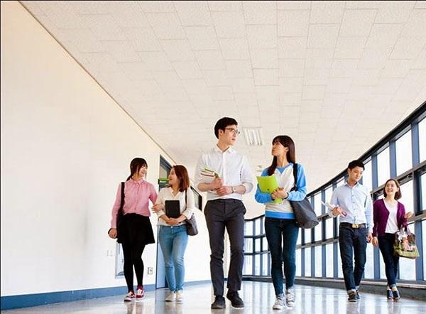 Cơ hội được tập tại trường đại học Woosong