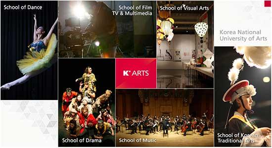 Trường đại học nghệ thuật quốc gia Hàn Quốc - Cái nôi đào tạo nghệ thuật