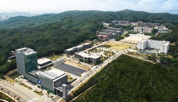 Toàn cảnh trường đại học Kookje