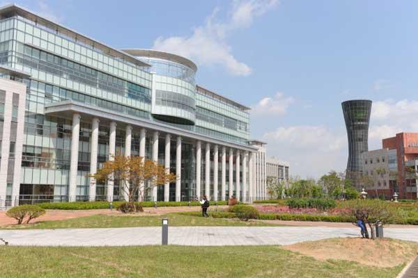 Một góc sân đại học Incheon