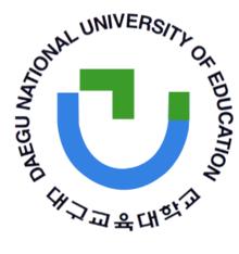 LOGO đại học sư phạm quốc gia Daegu