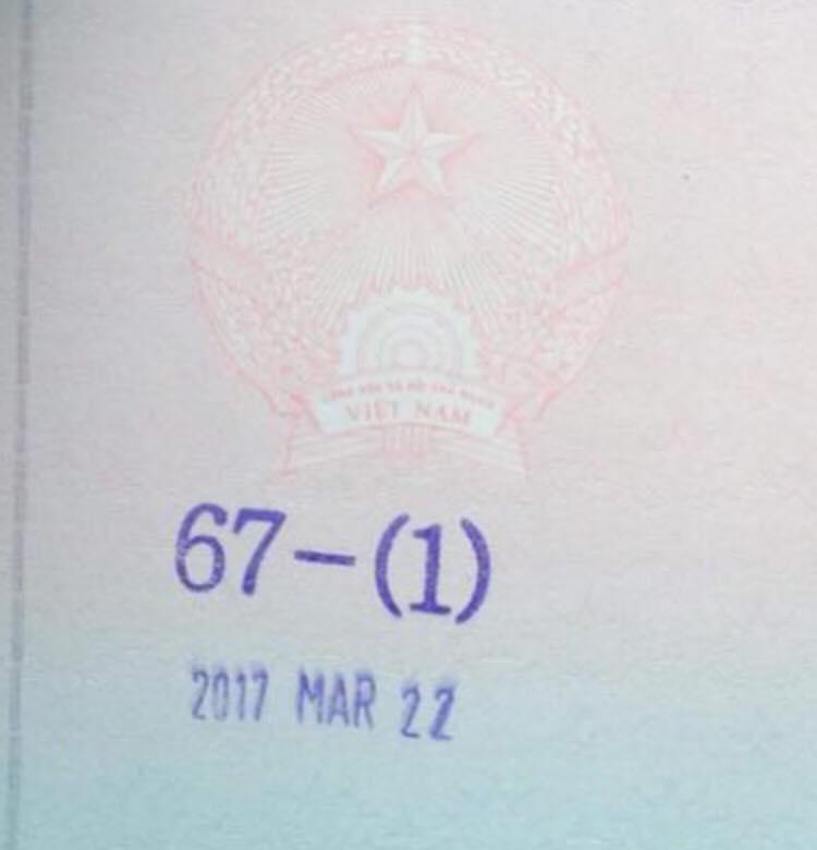 Đây là dấu có thể đăng ký lại visa nhập cảnh vào hàn quốc
