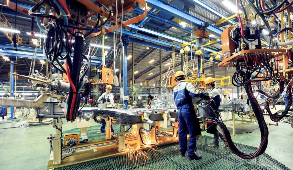 Ngành chế tạo sản xuất luôn thu hút lượng lớn lao động đăng kí