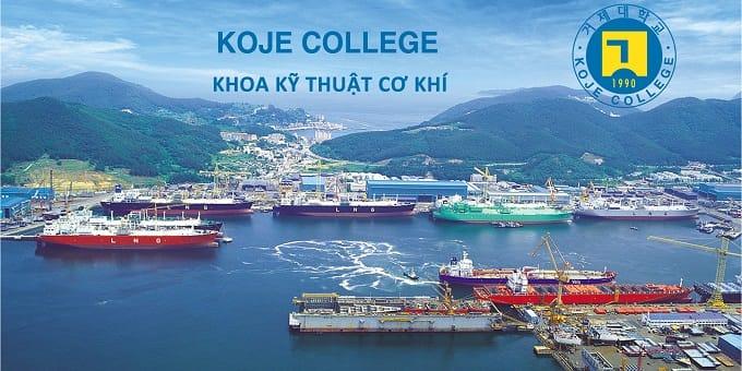 Trường Koje có thế mạnh rất lớn về đào tạo đóng tàu
