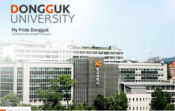 Trường đại học Dongguk nơi đào tạo chuyên ngành điện ảnh chuyên nghiệp