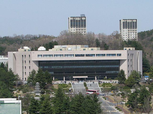 Quang cảnh trường đại học quốc gia Chungnam