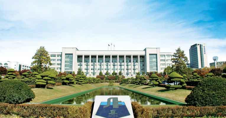 Tổng thể ngôi trường Inha tại Hàn Quốc