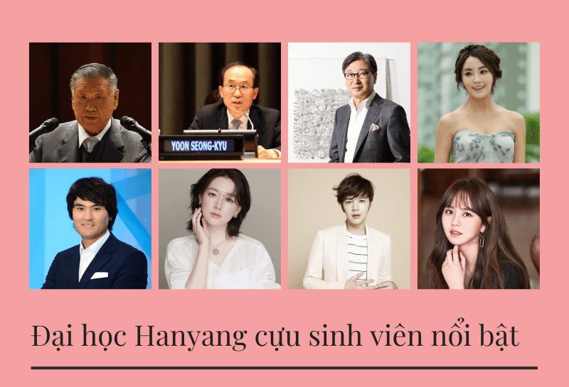 Những cưu sinh viên nổi bật của Hanyang University