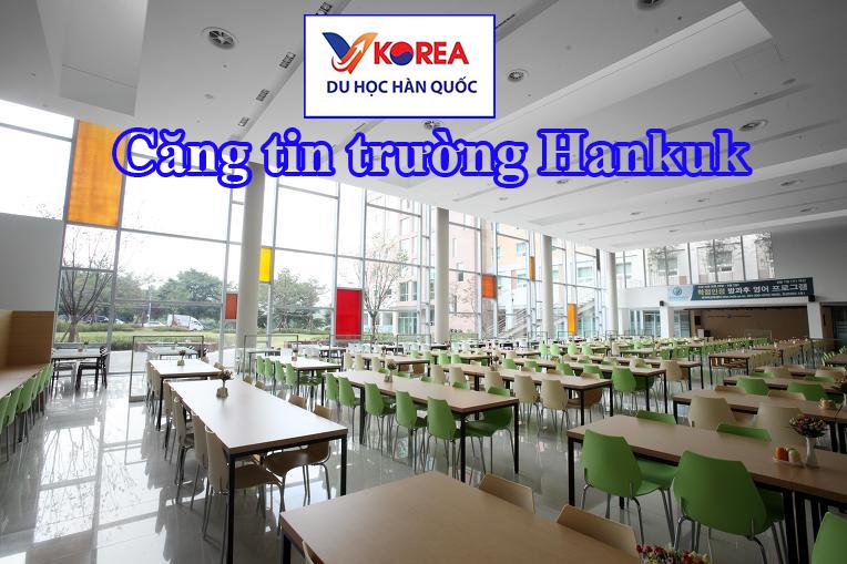 Căng tin trường đại học ngoại ngứ Hankuk Hàn Quốc