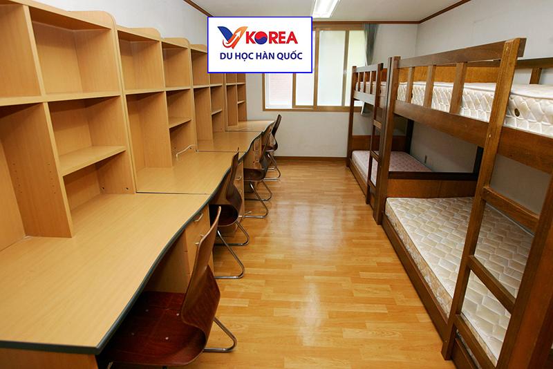 Phòng ở ktx cho học sinh