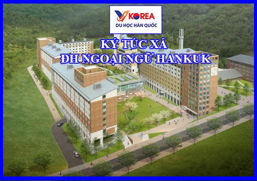 Tòa nhà ký túc xá đại học Hankuk