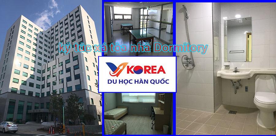 Ký túc xá tòa nhà Dormitory đại học Konyang