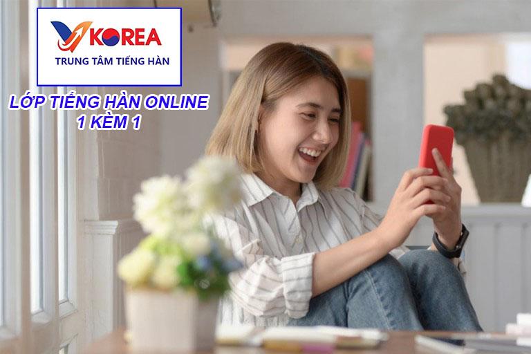 Lớp tiếng Hàn online 1 kèm 1